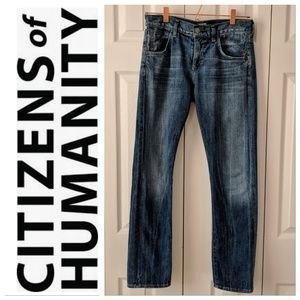 Citizens of Humanity Daisy relaxed tapered leg 24